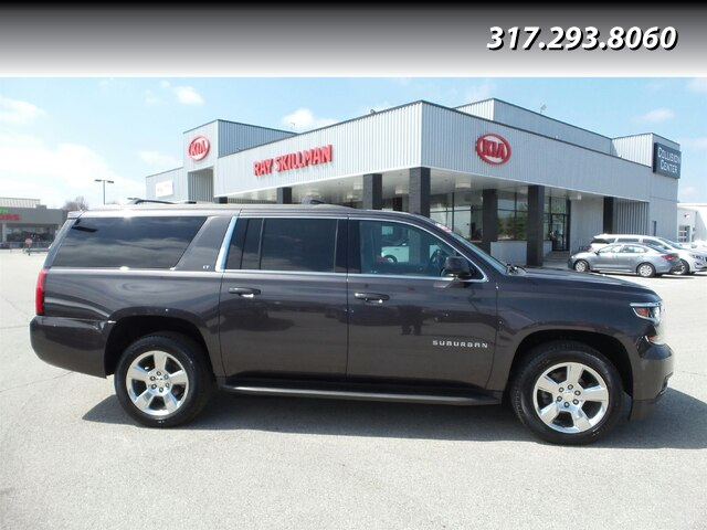 Pre-Owned 2016 Chevrolet Suburban ROOF,2ND ROW BKTS